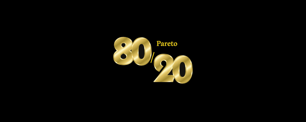 Pareto law with Tableau